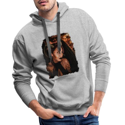What is it you truly desire...? - Mannen Premium hoodie