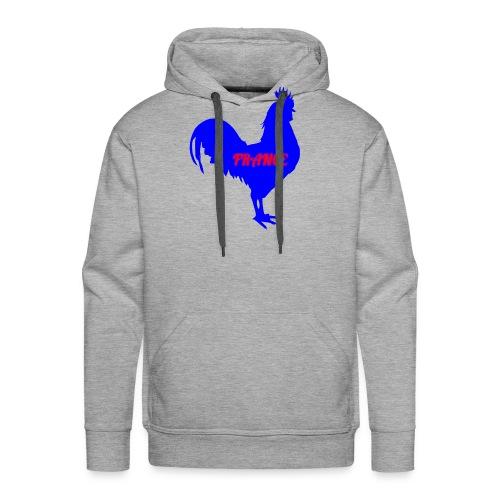 Coq français france - Sweat-shirt à capuche Premium pour hommes