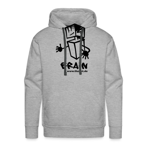 brain_logo_tshirt - Männer Premium Hoodie