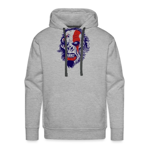 Kratos - Herre Premium hættetrøje