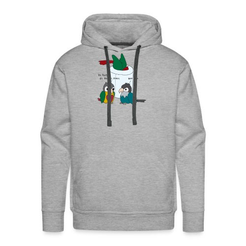 When You Drop Your Brussel Sprout - Men's Premium Hoodie