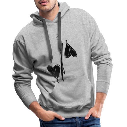 division - Sweat-shirt à capuche Premium pour hommes
