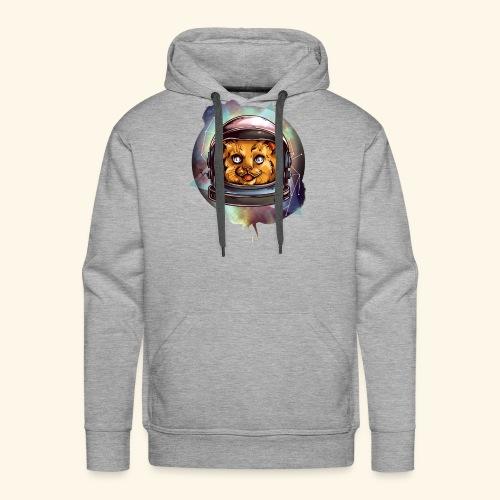 Space Katze - Männer Premium Hoodie