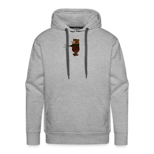 Hamster Freddie - Mannen Premium hoodie