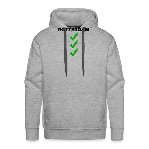 ROTTERDAM VINK png - Mannen Premium hoodie