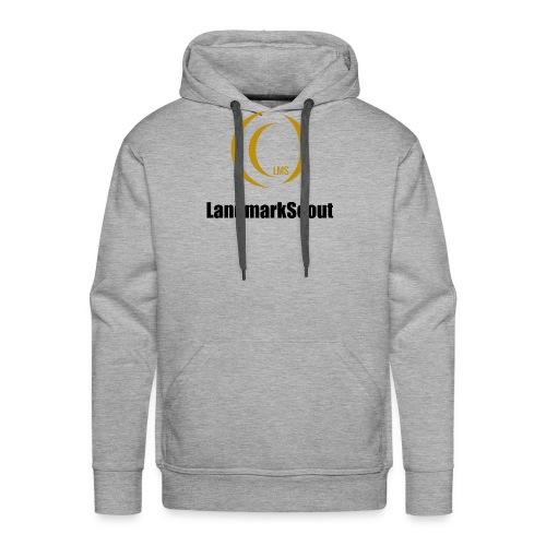 Tshirt Yellow Front logo 2013 png - Men's Premium Hoodie