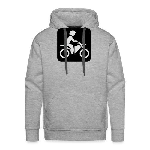 motorcycle - Miesten premium-huppari