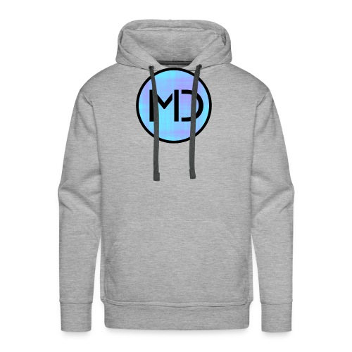 MD Blue Fibre Trans - Men's Premium Hoodie
