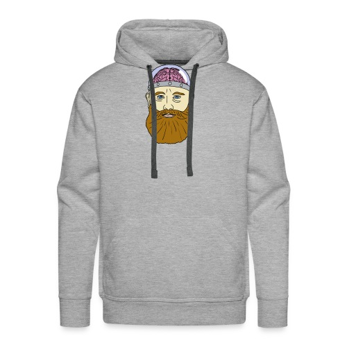 Beard for Brains - Men's Premium Hoodie