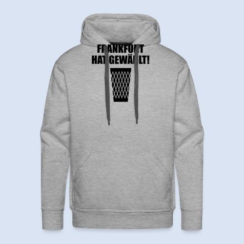 Frankfurt Wahl - Männer Premium Hoodie