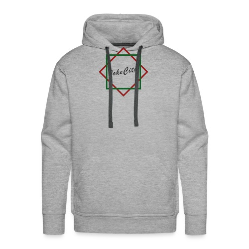 joke city logo - Men's Premium Hoodie