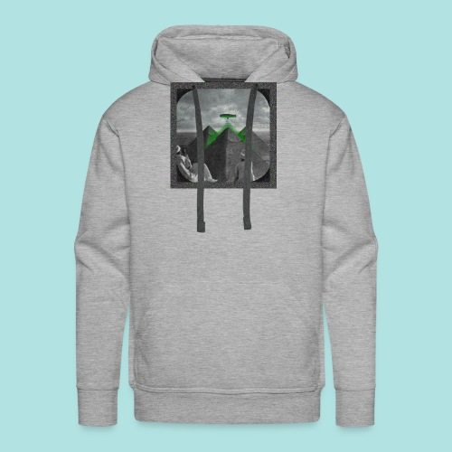Invaders_sized4t-shirt - Men's Premium Hoodie