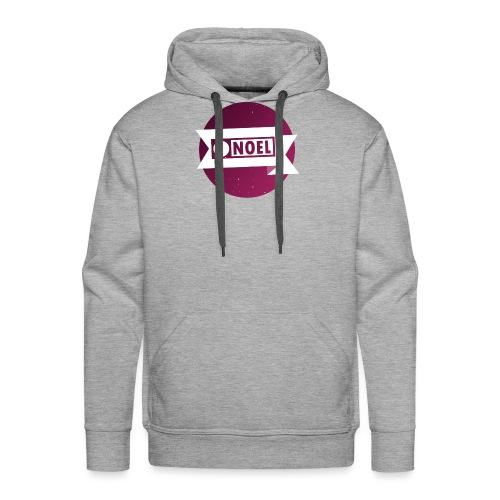 Round, Pink [N] - Men's Premium Hoodie