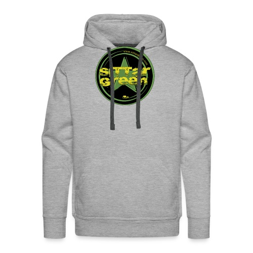 Sittar T-Shirt (Green cilcle) - Sudadera con capucha premium para hombre