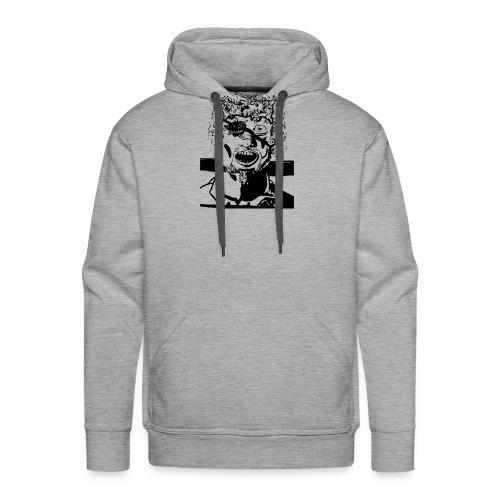 mindblownface1 - Mannen Premium hoodie