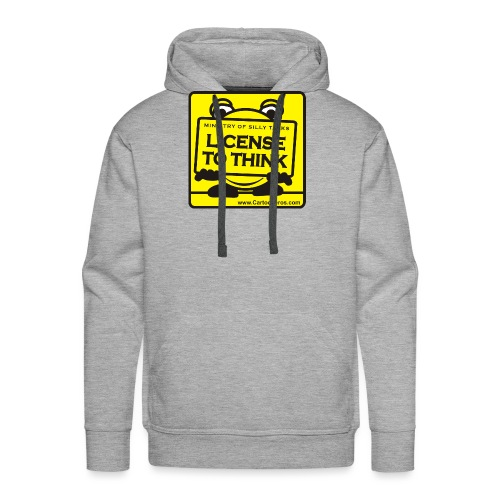 Licence to Think - Men's Premium Hoodie
