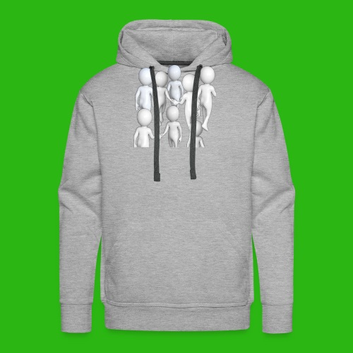 It s Nice to be Nice - Men's Premium Hoodie