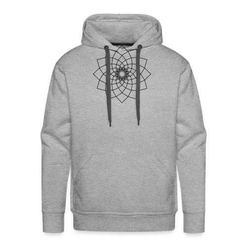 Mandala Phi - Sweat-shirt à capuche Premium pour hommes