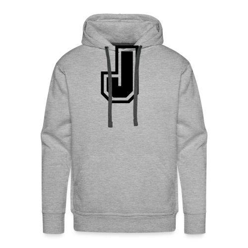 J black png - Sweat-shirt à capuche Premium pour hommes