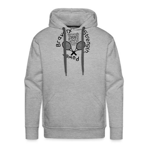 T-Shirt Kämpferherz (Abschlussprojekt A. Gepper - Männer Premium Hoodie