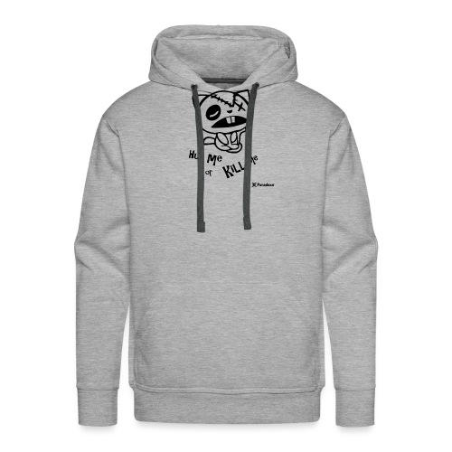 Happy tree friends Hug me or kill me - Dark cat' - Sweat-shirt à capuche Premium pour hommes