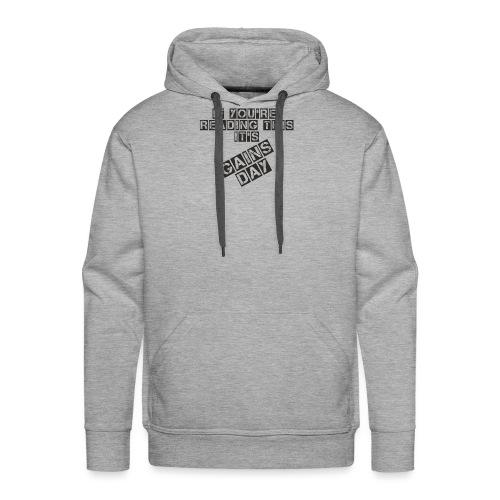 gainsday - Herre Premium hættetrøje