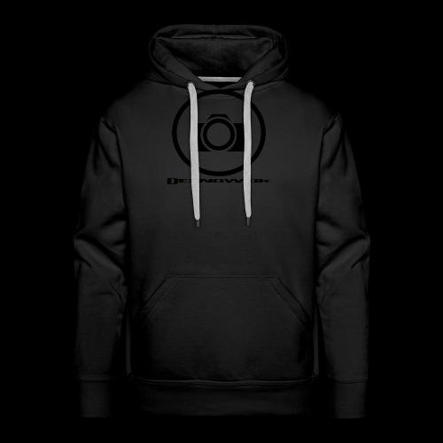sort2 png - Herre Premium hættetrøje
