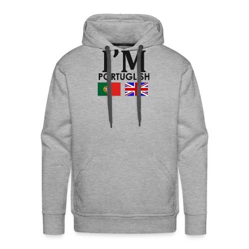 Portuguese + English = - Men's Premium Hoodie