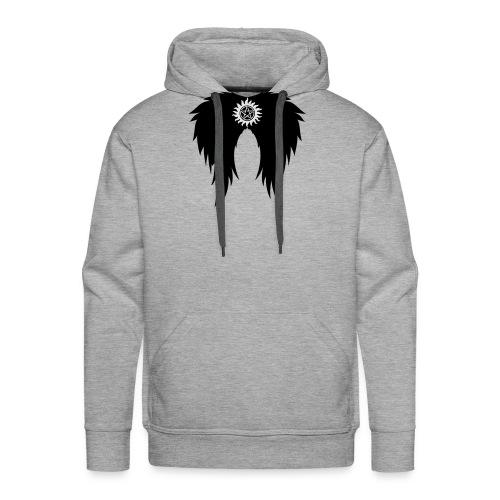 Supernatural wings (vector) Hoodies & Sweatshirts - Men's Premium Hoodie