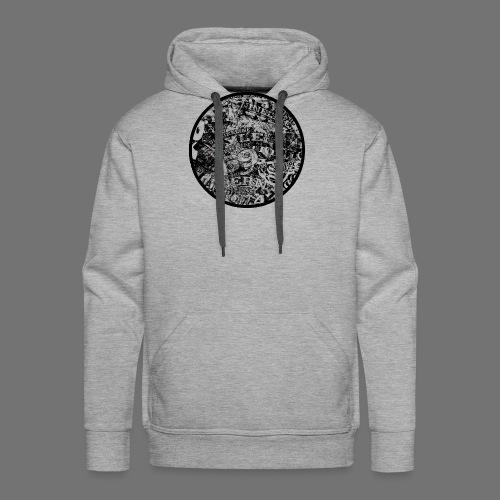 Urban Style black 1C - Männer Premium Hoodie
