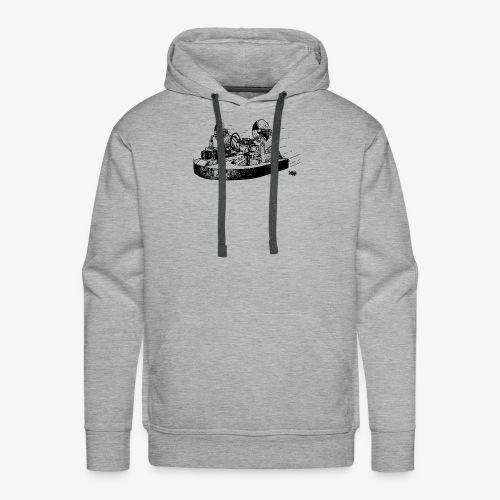 TINY WHOOV - DRAWING - Sweat-shirt à capuche Premium pour hommes