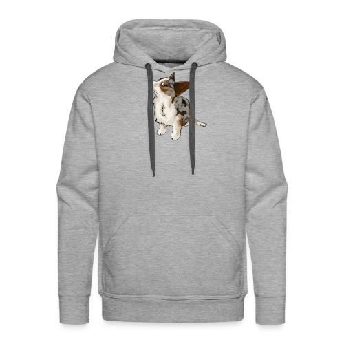 Corgi Merle - Sweat-shirt à capuche Premium pour hommes