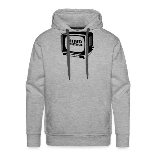Mind Control Fernseher - Männer Premium Hoodie