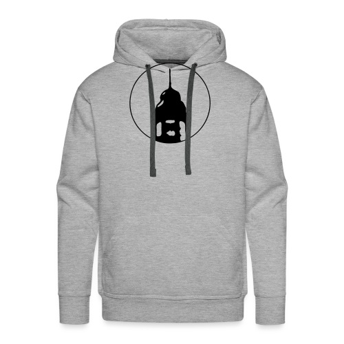 Neckarstadtblog Logo - Männer Premium Hoodie