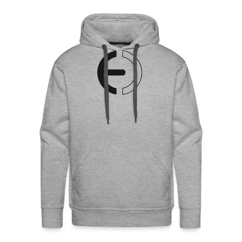 logo black only - Men's Premium Hoodie