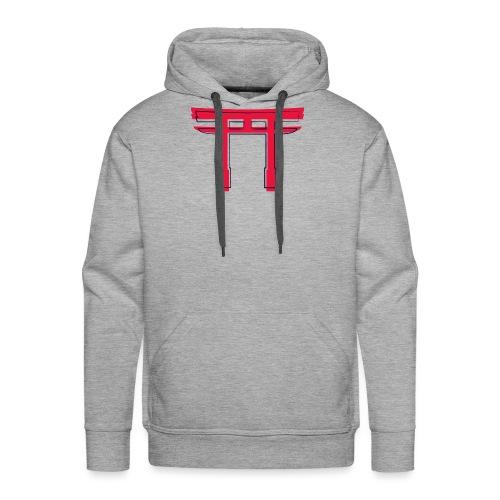 CR - Neon Torii - Sudadera con capucha premium para hombre