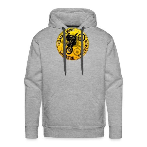 T-shirt MeilleursCrabreursDeSoyaux officielle - Sweat-shirt à capuche Premium pour hommes