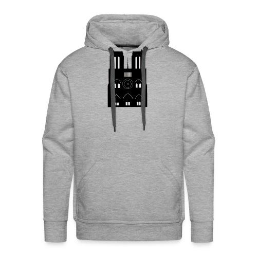 Souvenir de Cathédrale - Sweat-shirt à capuche Premium pour hommes