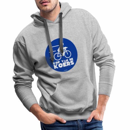 Kop van de koers - Mannen Premium hoodie