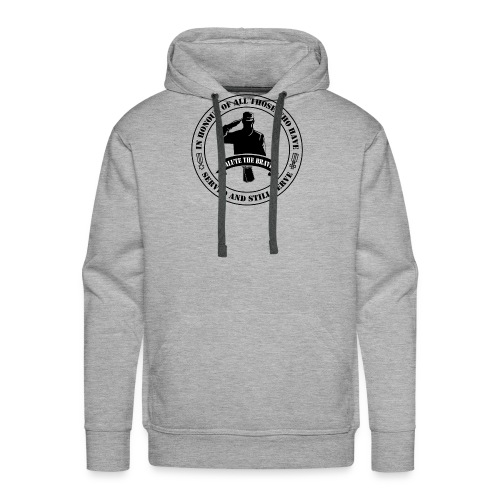 German Military Veteran - Men's Premium Hoodie