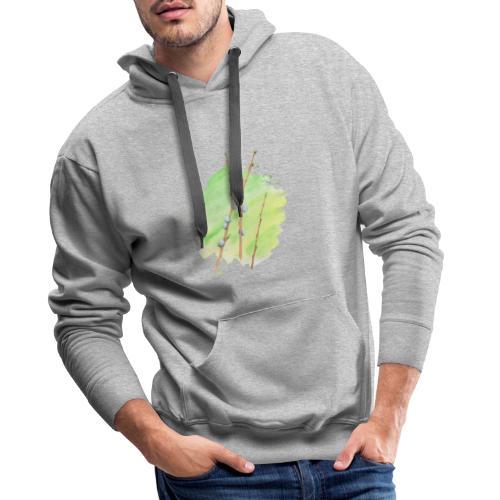Weidenkätzchen - Männer Premium Hoodie