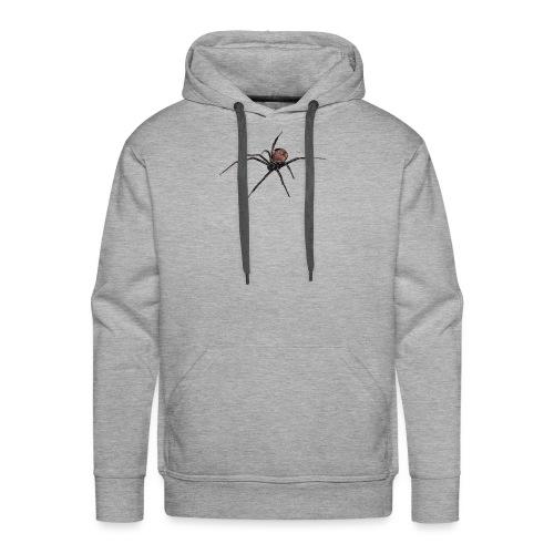 Spinne - Schwarze Witwe - Aquarell Zeichnung - Männer Premium Hoodie