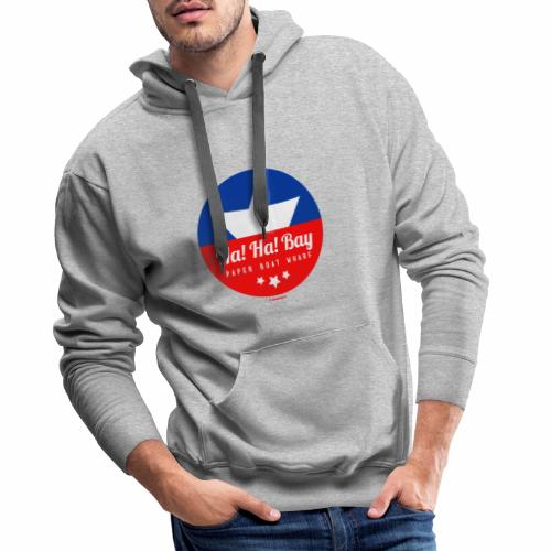 Ha! Ha! - Mannen Premium hoodie