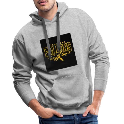 faucon - Sweat-shirt à capuche Premium pour hommes