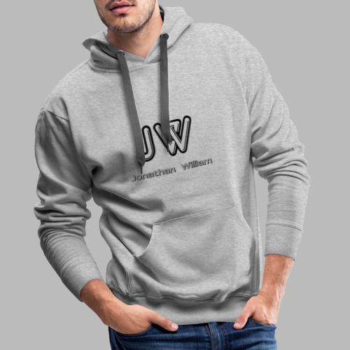 Jonathan William JW logo - Men's Premium Hoodie