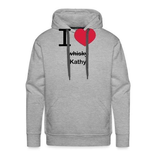 ilovekathy - Mannen Premium hoodie