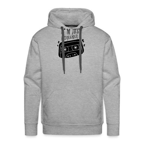 vintage rock t shirts - Sweat-shirt à capuche Premium pour hommes