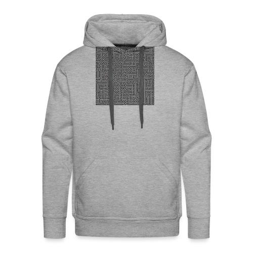 Maze - Männer Premium Hoodie