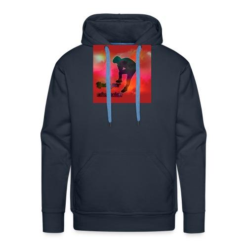 Lindo por educacion - Sudadera con capucha premium para hombre