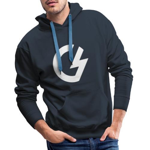 Giacomini Lab - Logo - Felpa con cappuccio premium da uomo